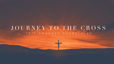 Journey To The Cross Pt.1