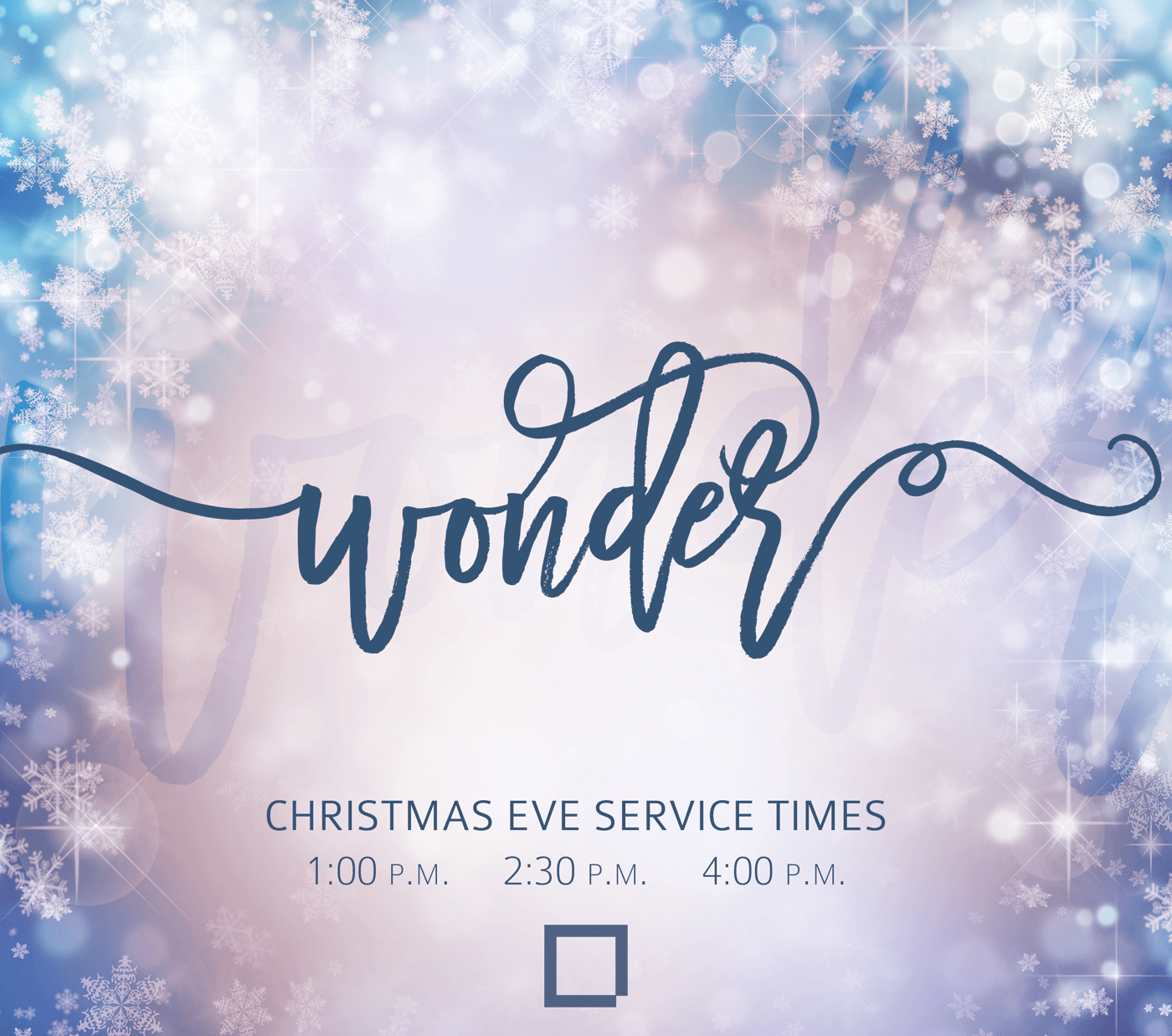 Christmas Eve Service 2016